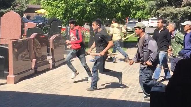 Бійка, в якій взяло участь 20 іноземців