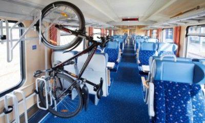 потяги з веловагонами