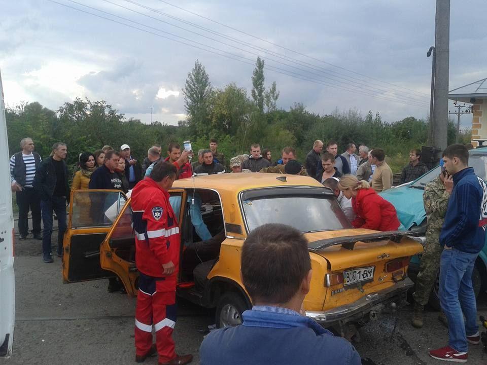 ДТП в Червонограді