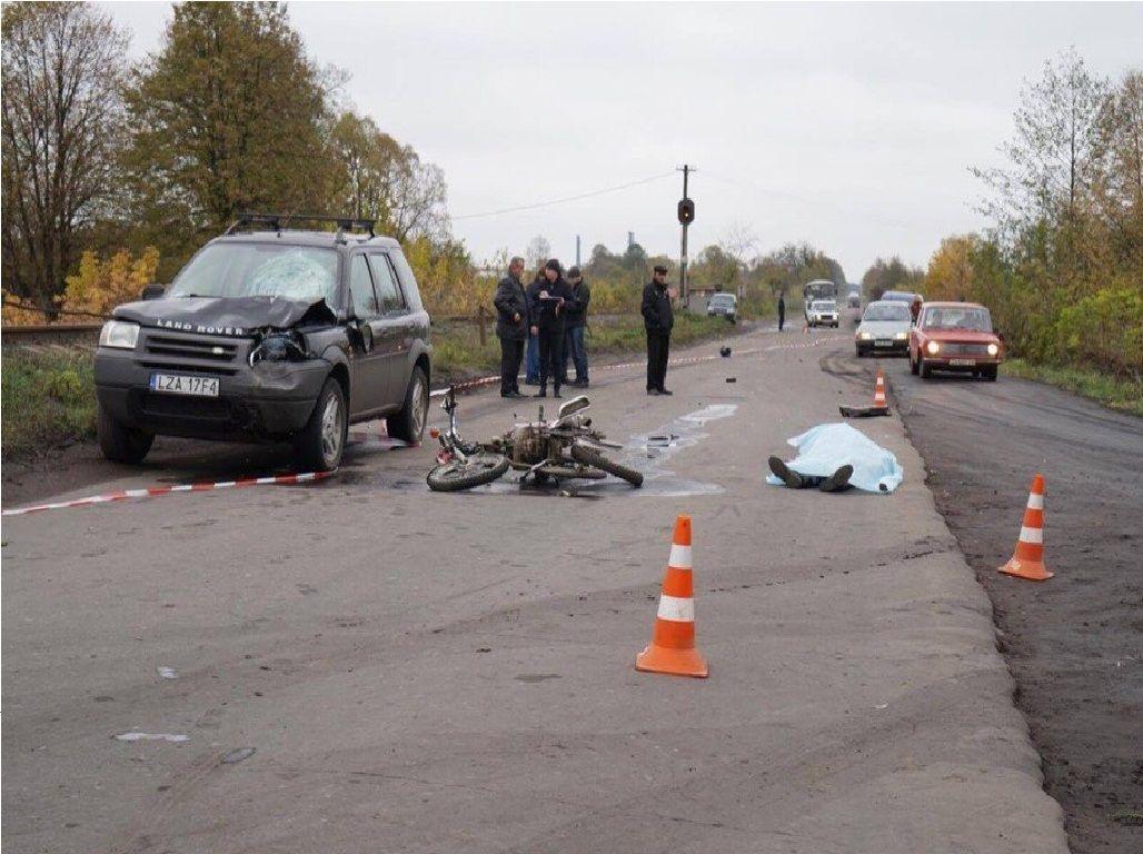 Смертельное ДТП на Львовщине (Фото)
