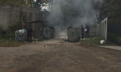 У Львові палять сміття