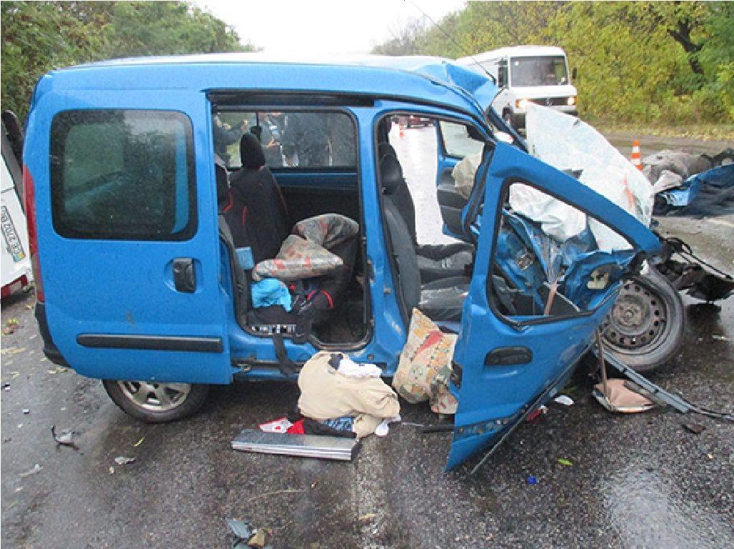 На Буковині в смертельній ДТП загинула одна людина (Фото)