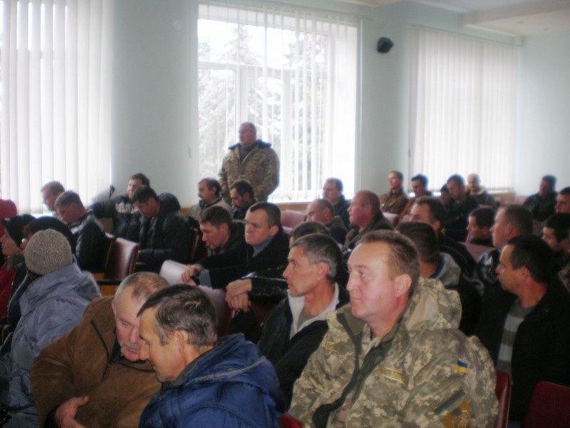 У Гощі на Рівненщині 120 ветеранів АТО зібрались