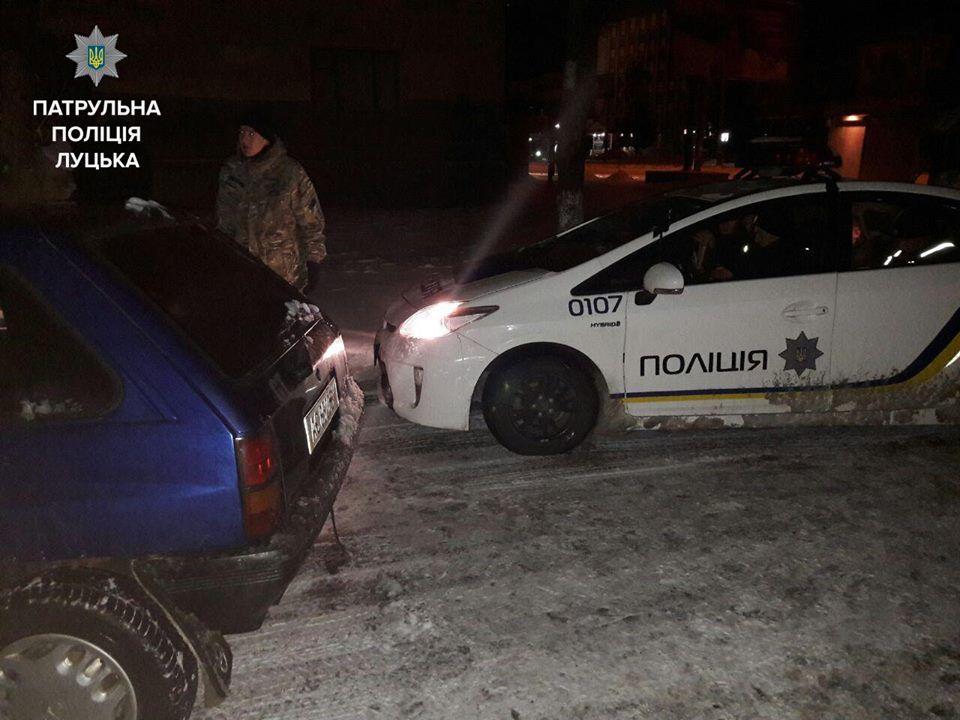 Поліцейські Луцька затримали двох нетверезих водіїв (Фото)