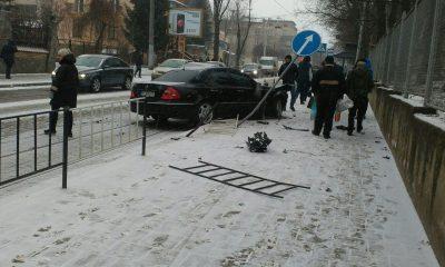 """Mercedes"" потрапив в ДТП"
