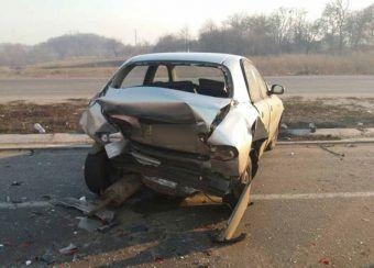 На Полтавщині в ДТП зіткнулося сім автомбілів: є постраждалі (Фото)