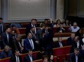 """Депутати """"БПП"""" кнопкодавили за призначення Найджела Брауна аудитором НАБУ (Відео)"""