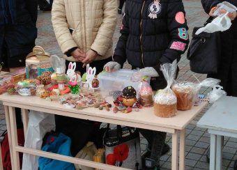 У Рівному Хомко і Кульчинська прийшли на благодійний ярмарок  [Фоторепортаж]