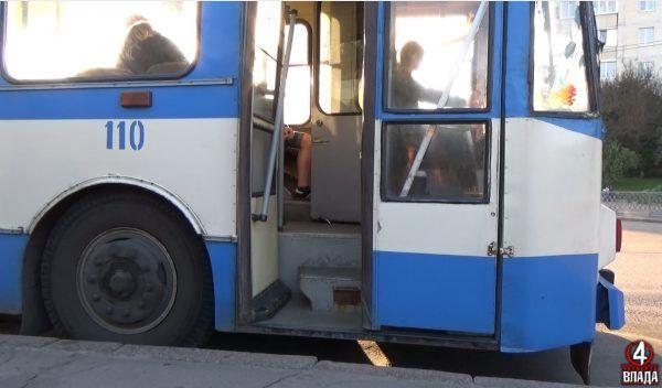 Тролейбусний секонд-хенд Рівного