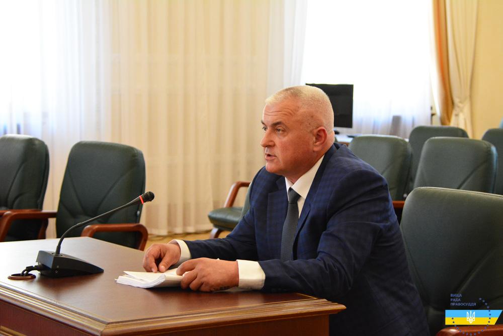 Суддя Олег Ющук