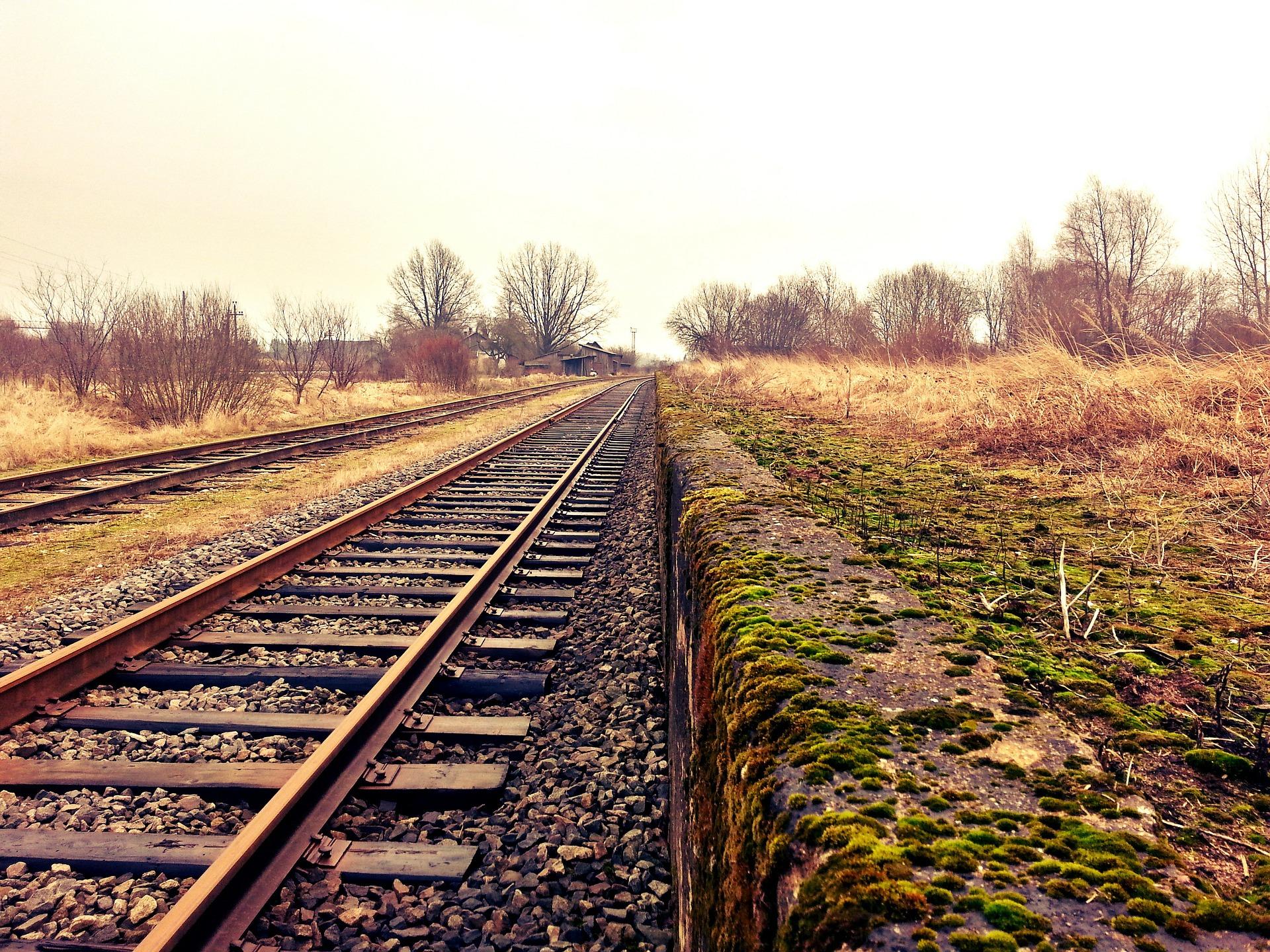 Рух поїздів був заблокований львівськими пасажирами