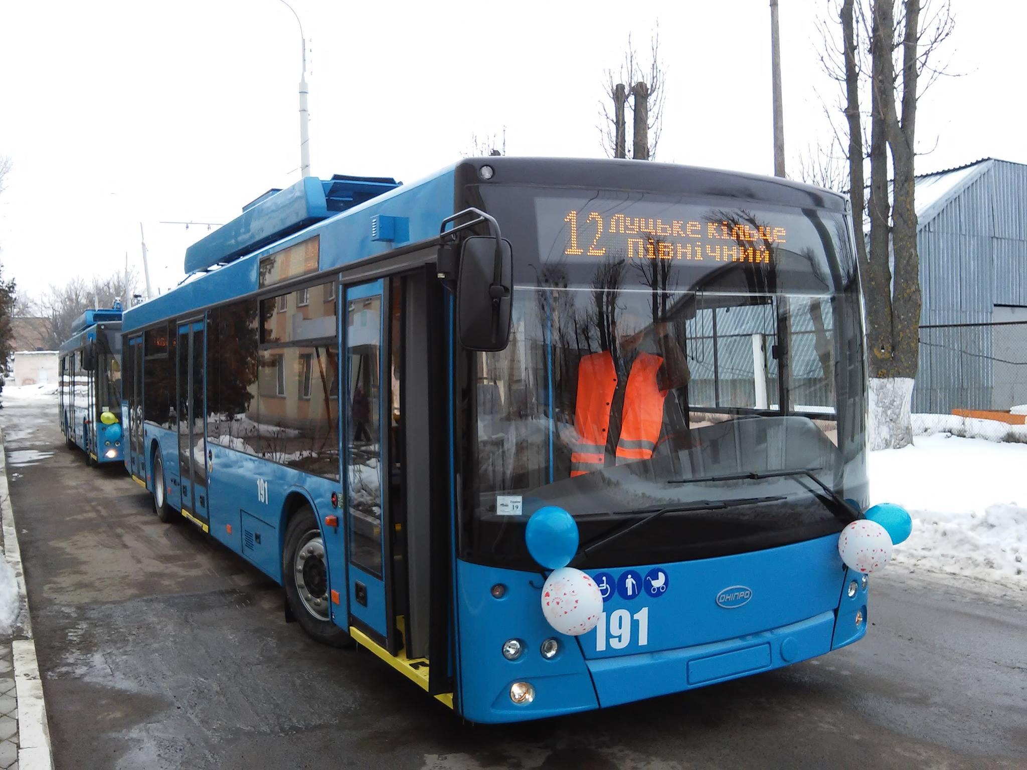 У Рівному на 7 тролейбусів стане більше