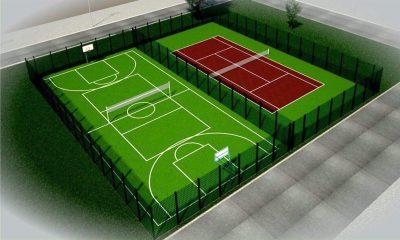 У Бориславі відкрили спортивний майданчик