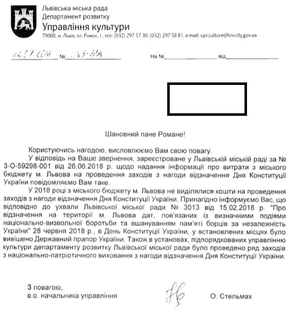 Львів День Конституції 2018