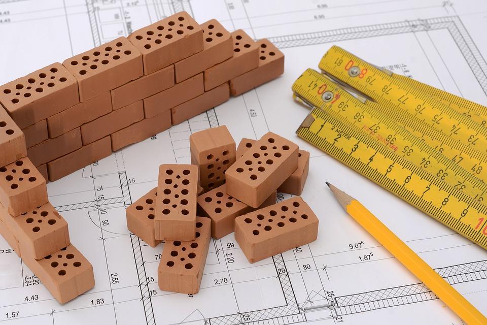 будівництво план цегла