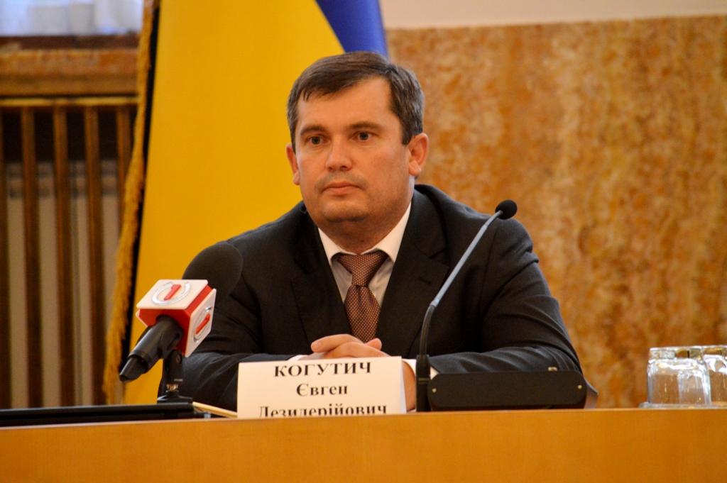 Євген Когутич очільник Закарпатської Юстиції